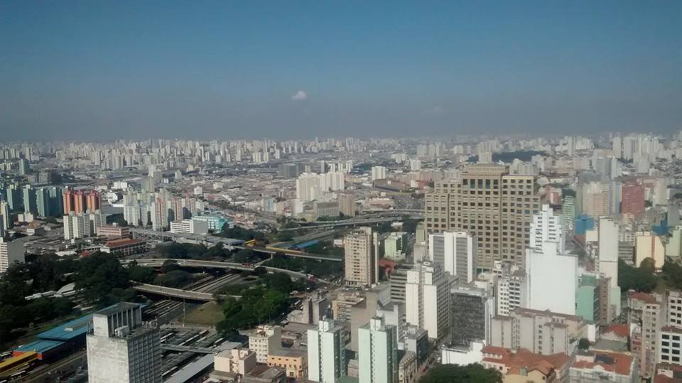 I was born in São Paulo, Brazil.  This picture represents a very small part of São Paulo.  I took this picture before I came to the United States.  Photo credit:  the author